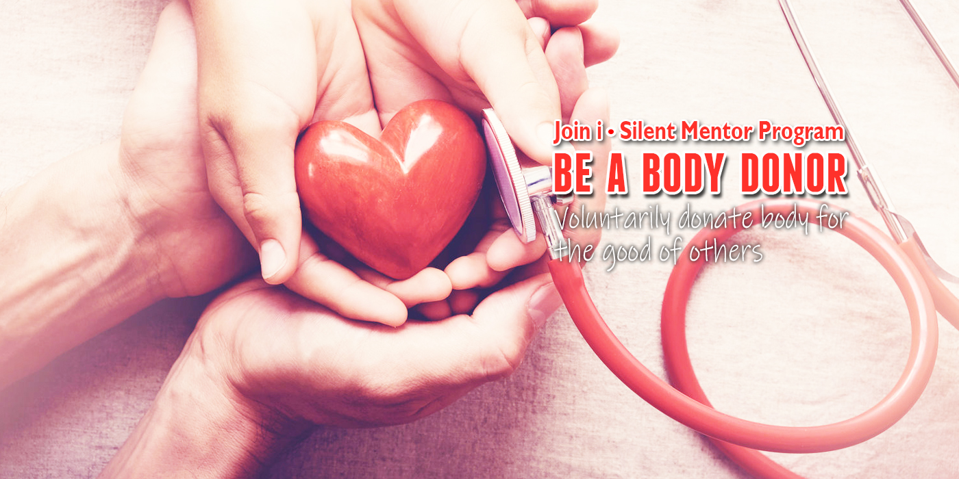 Be a body donor